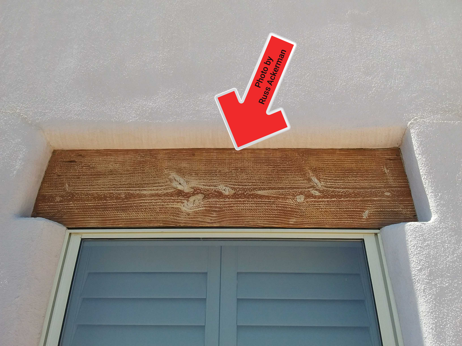 Exposed unpainted wood must be sealed every 3-5 years to reduce weathering and decay.