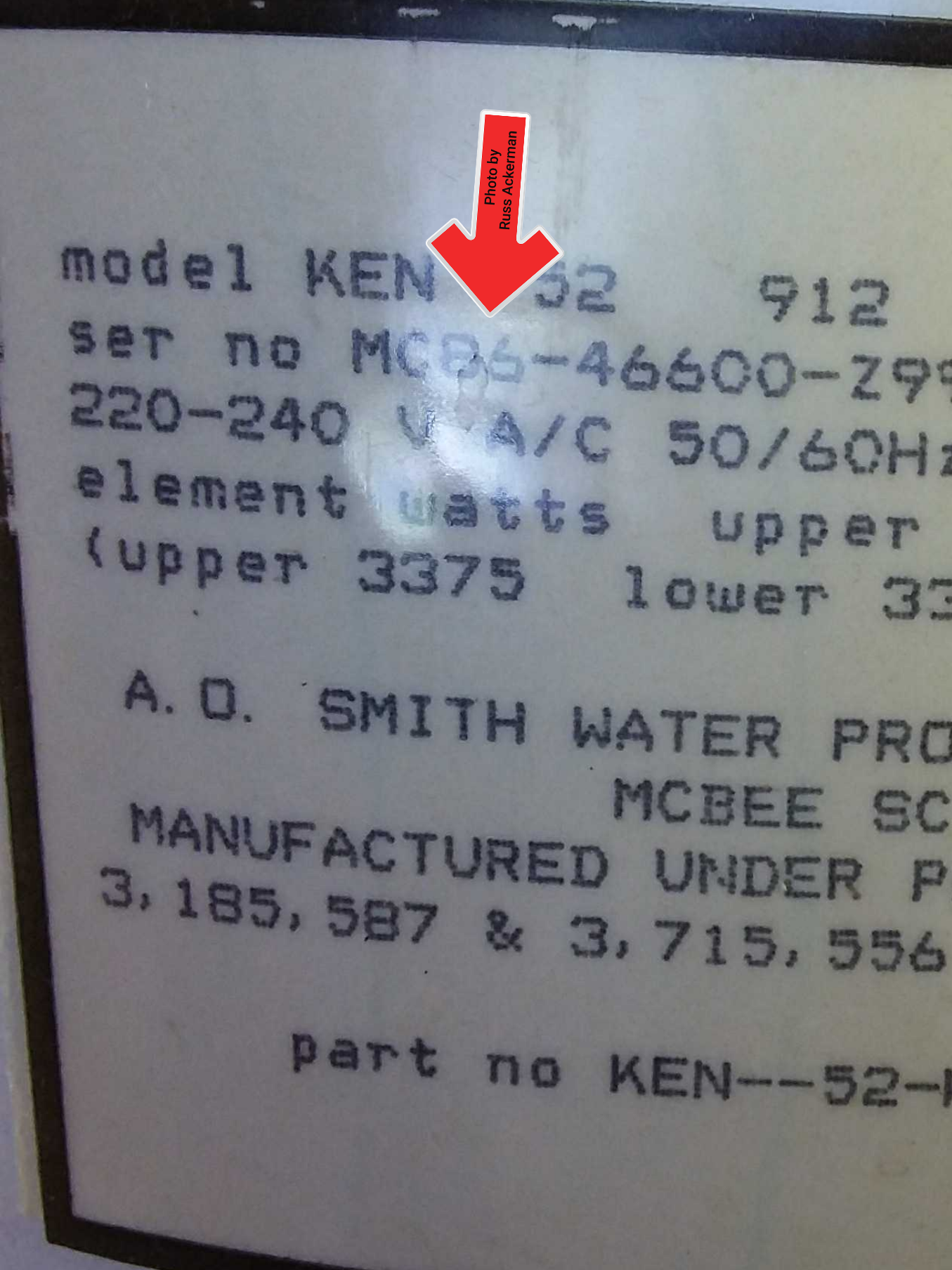How many of you can brag that your water heater lasted 33-years. They just don't make things like they use to.