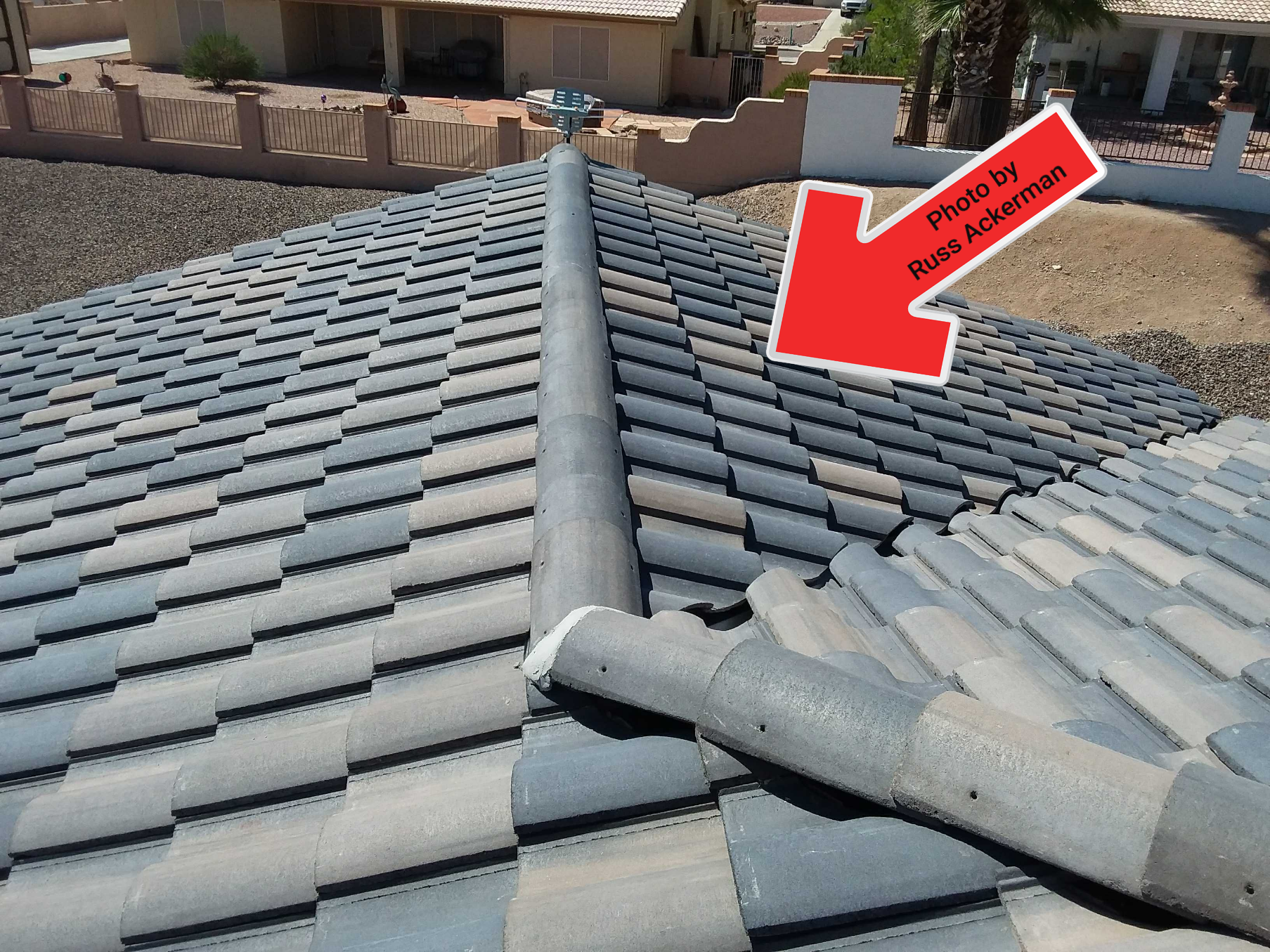 The roof of this new home was almost perfect, apart from having no attic ventilation at all. Does a new home need to be inspected? Absolutely.