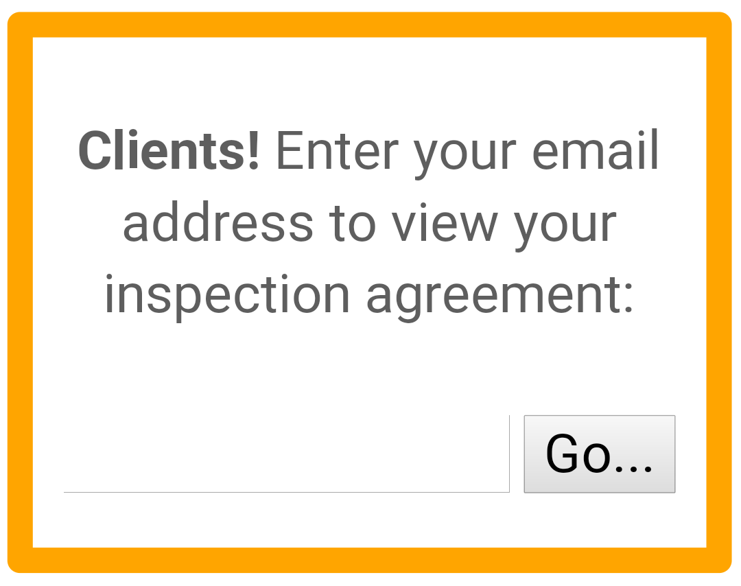 Clients love my online agreement system. Always working to make the home inspection process easy.   https://bit.ly/2lMYw0s