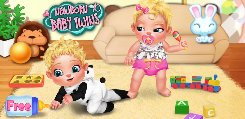 Newborn Baby Angry Twins