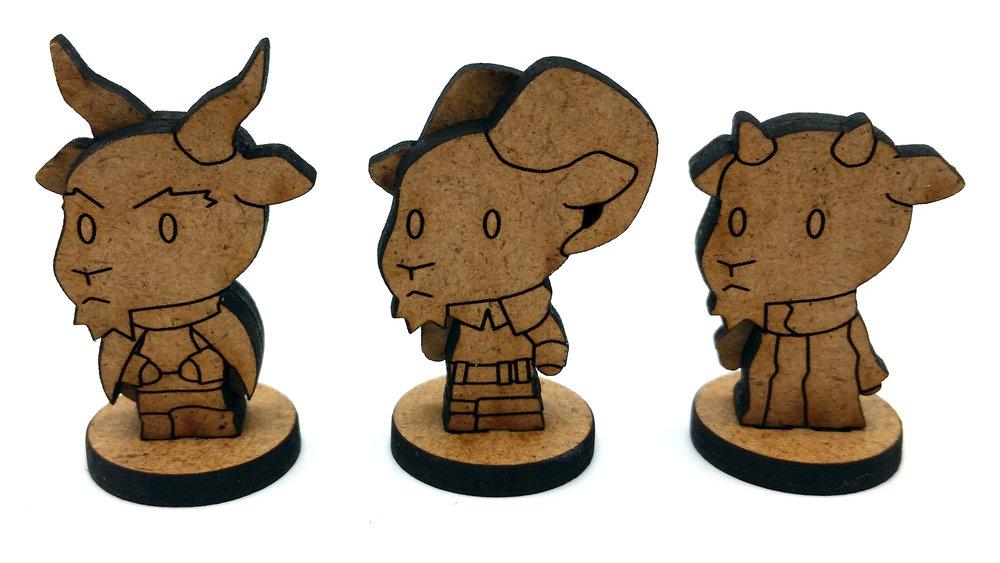 Minis - Goatfolk