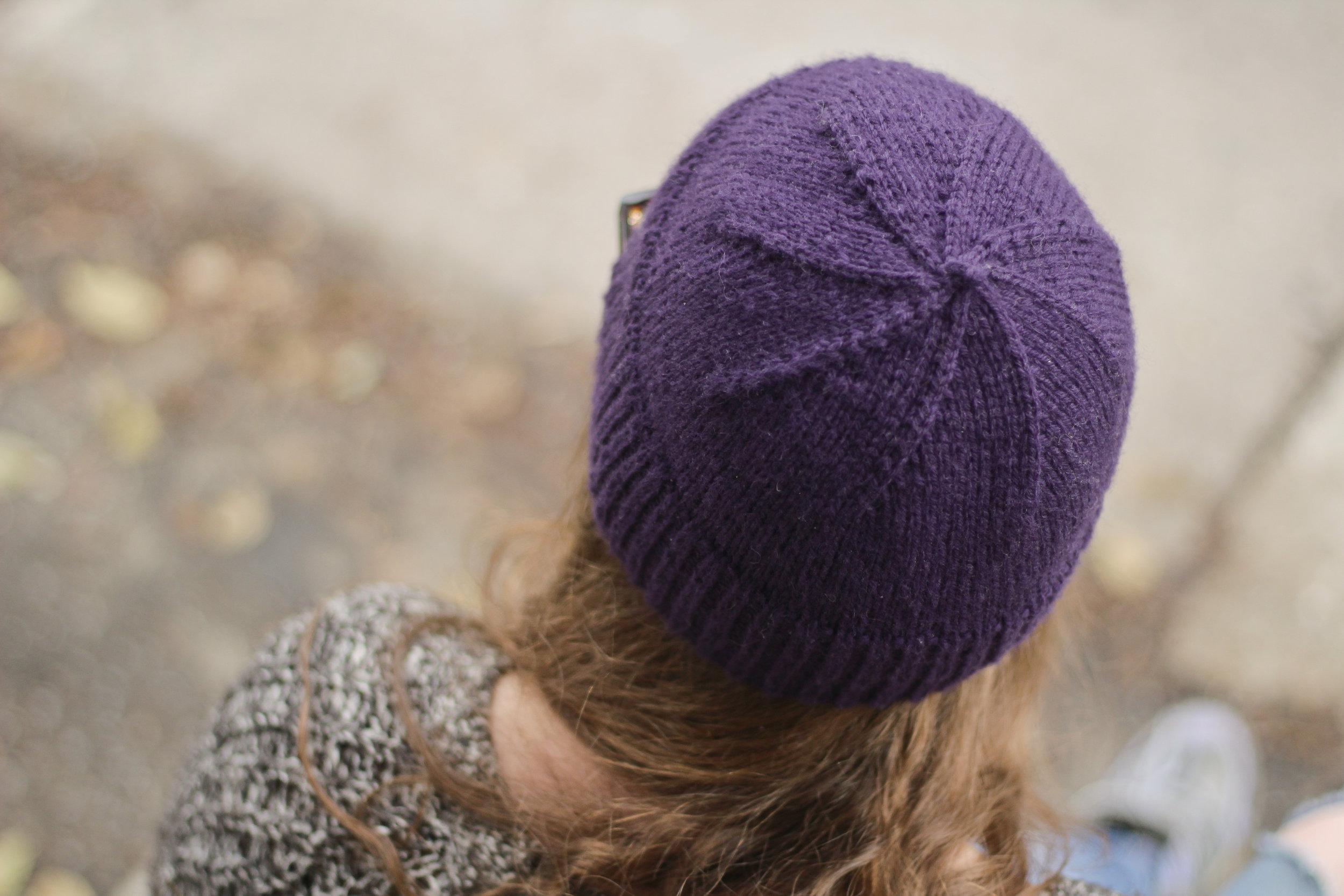 Simple Hat en laine péruvienne Cascade 220