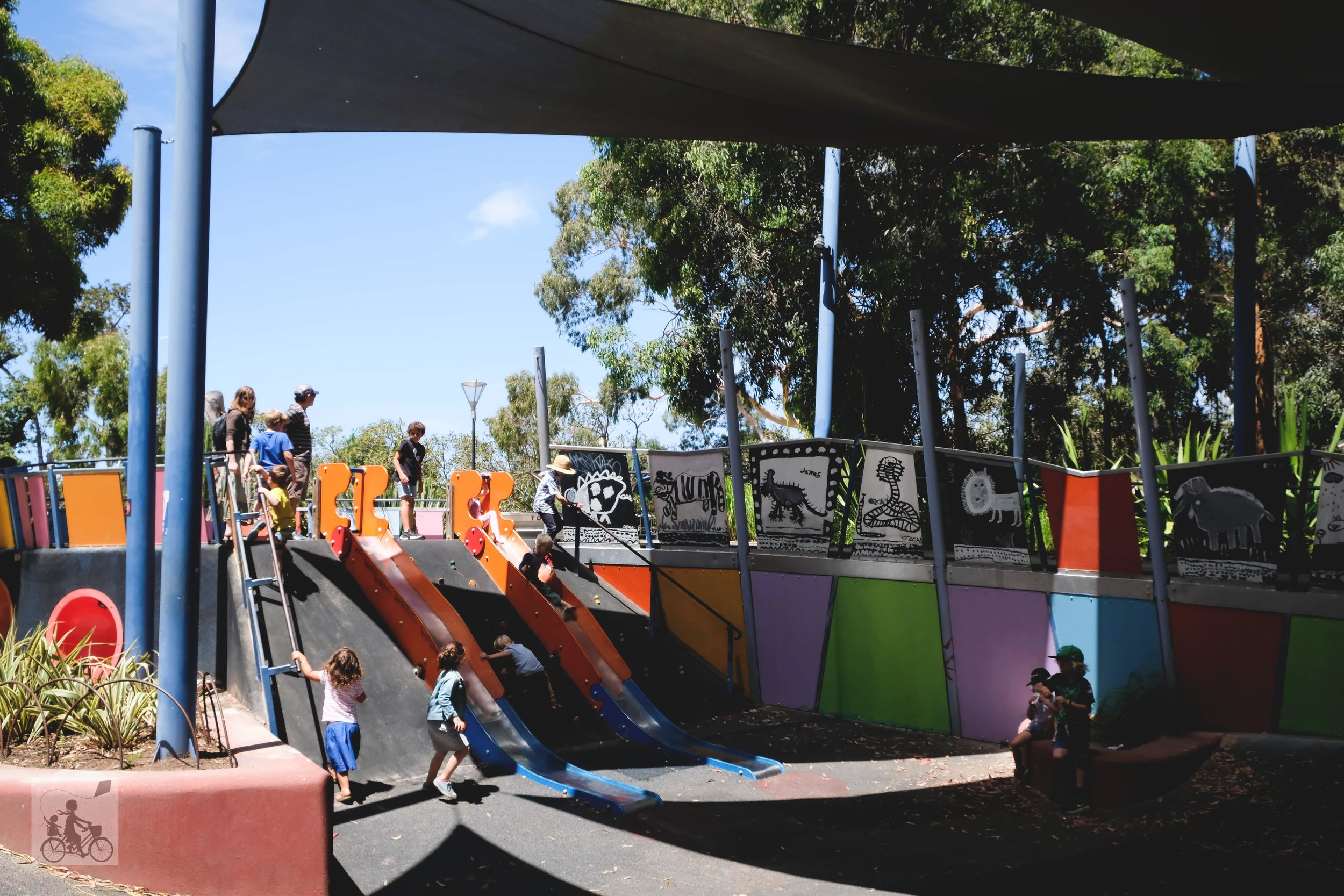 birrarung marr playground, melbourne - mamma knows melbourne