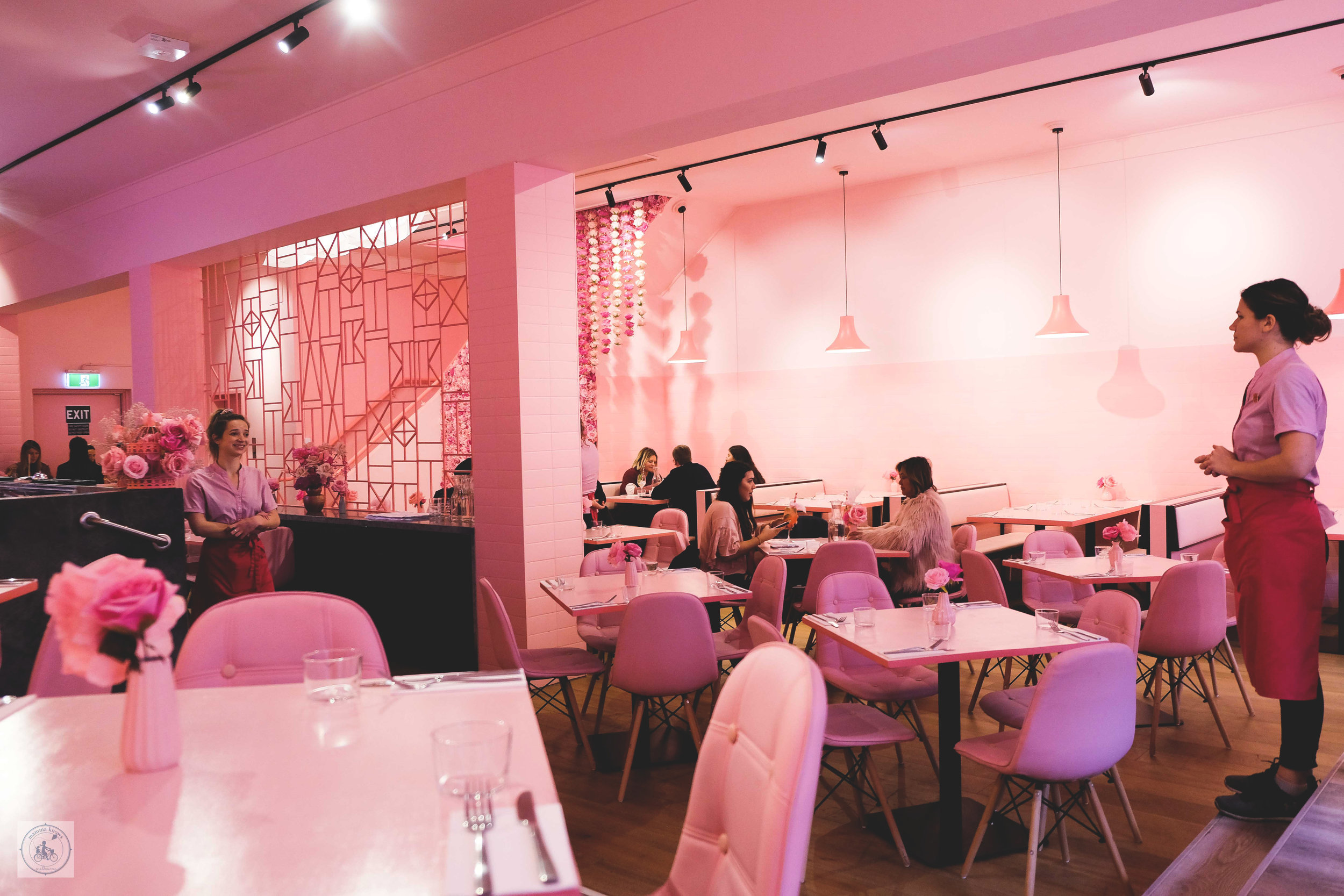 pink the restaurant, melbourne  - mamma knows melbourne