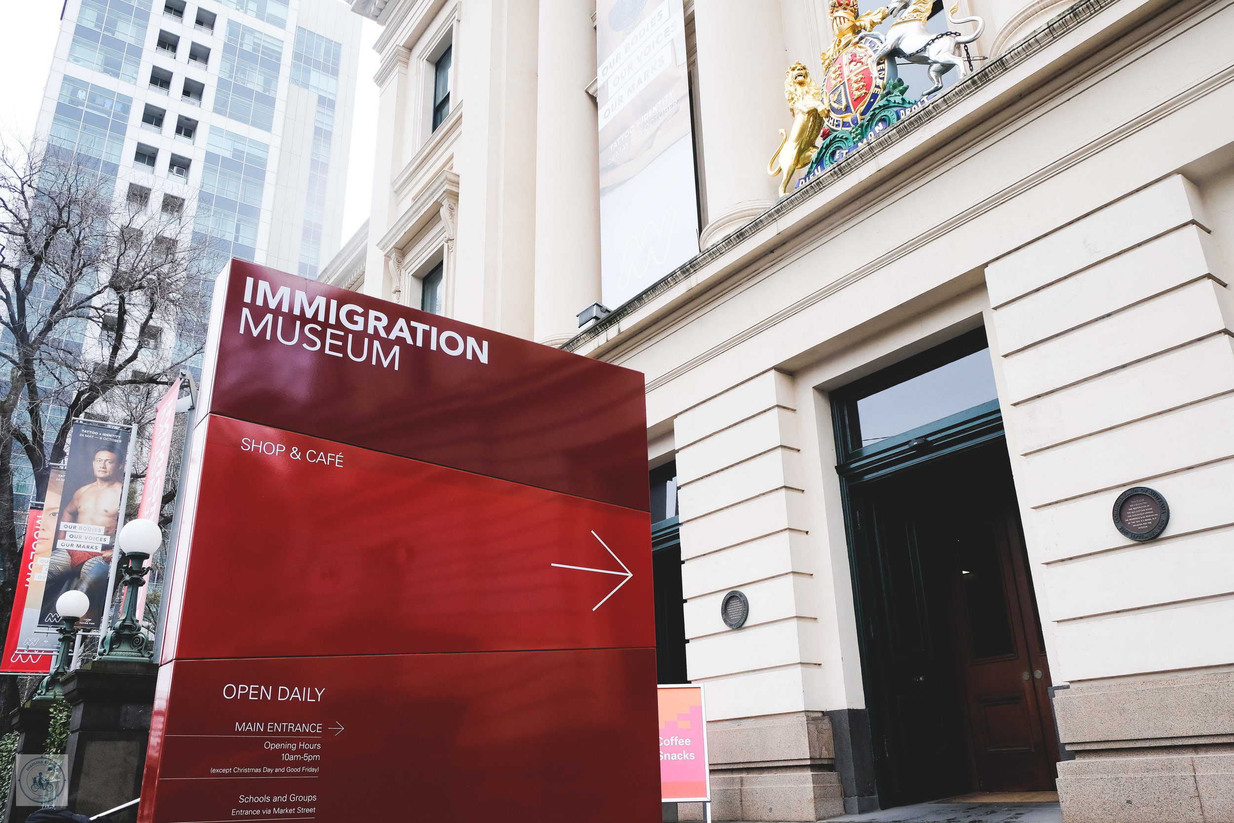 immigration museum, melbourne - mamma knows melbourne