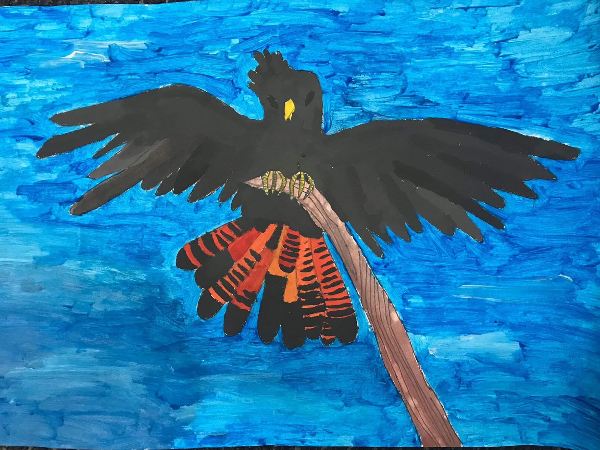 11. Threatened Species Art Competition - credit Dennis, Age 8, Maribyrnong PS- lo-res.jpg