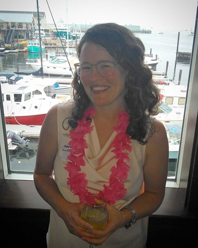This human was nominated for a @propelportland award last night, Young Professional of the Year! It's nice to see @mainemusicandhealth get so much publicity lately, it's well deserved.  Even crazier, she is in the top 10 of a nationwide small business contest to win $25,000. That's huge for a small business. If I could lobby you to vote for her, the link is in my bio. I am very proud of Kate and am honored to be her husband 💞 #musictherapy #mainemusicandhealth #smallbizchallenge