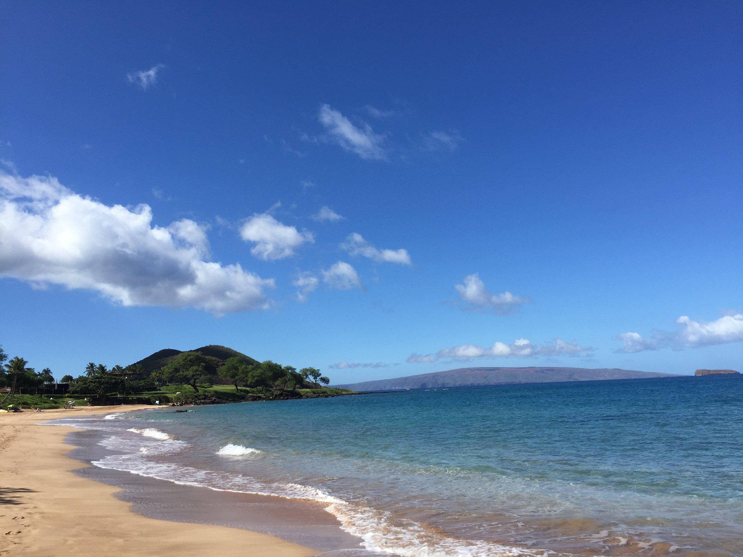 One of Maui's many beautiful beaches