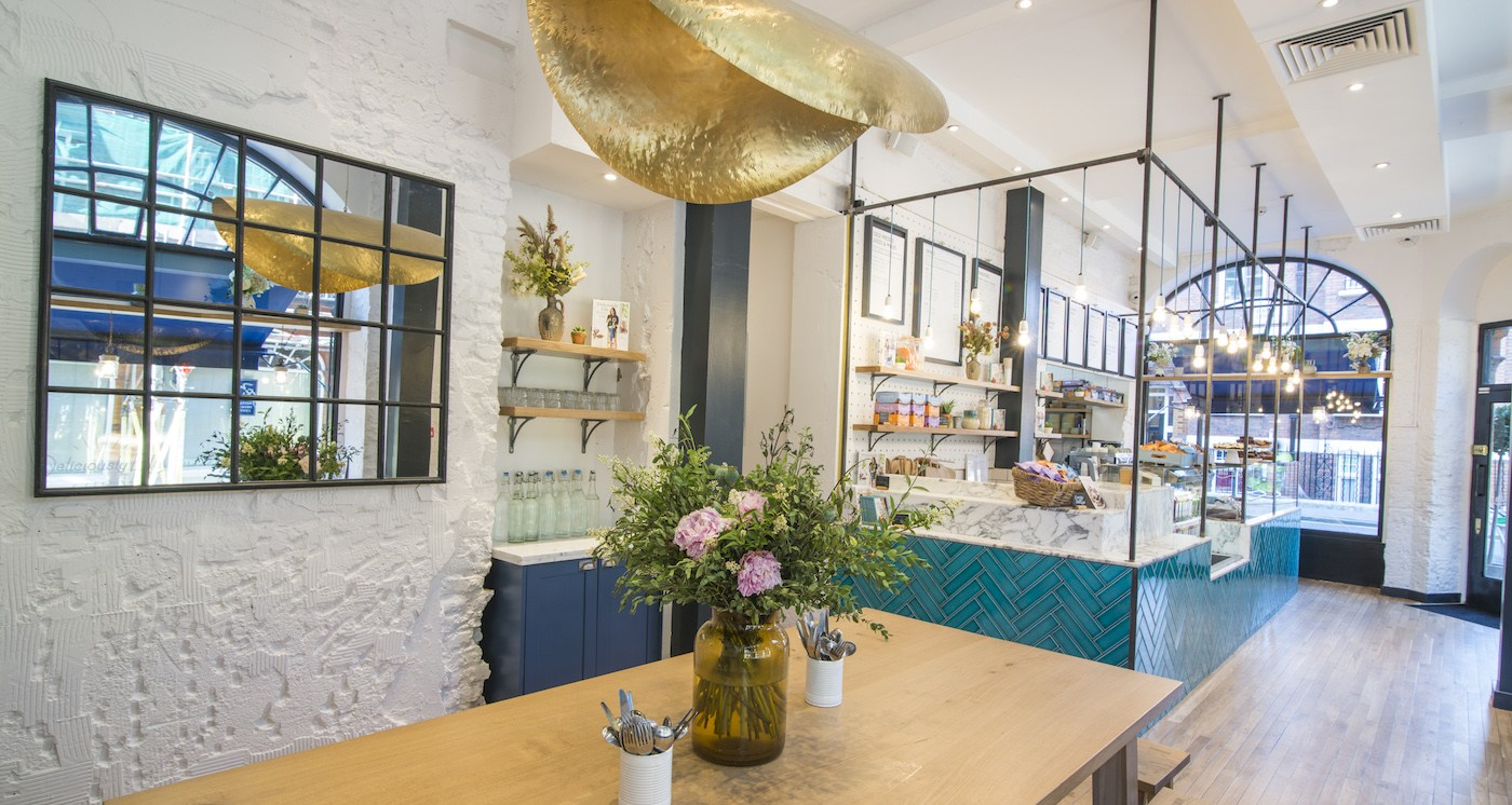 Deliciously Ella on Weighhouse Street, London