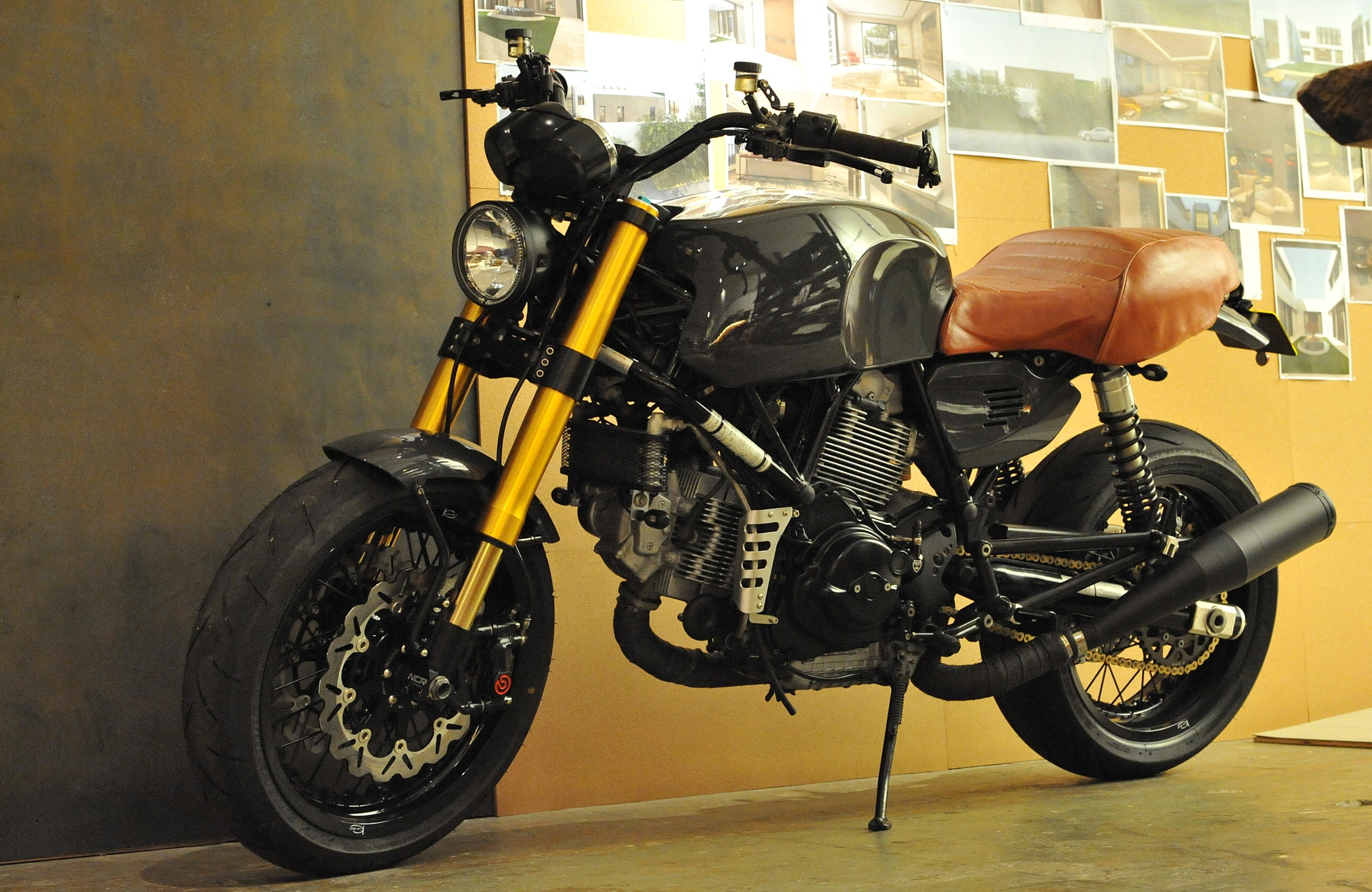 Our projects are not limited to Architecture and Interior.                         Ducati GT1000 with the THC touch.