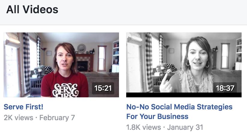 jackie ellis facebook video titles