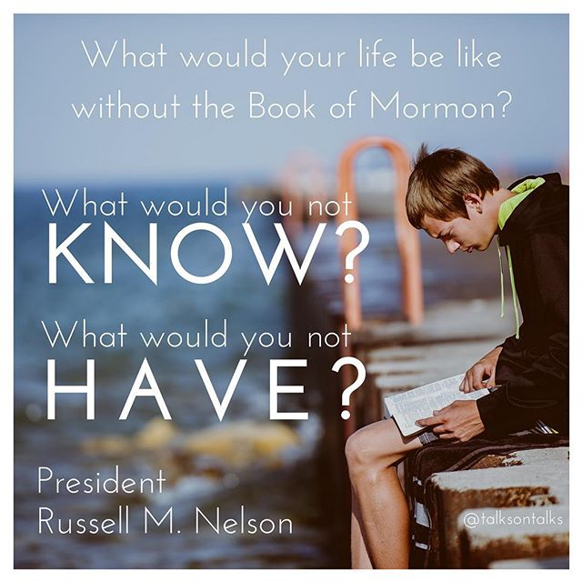 "Just preparing to release an episode that discusses how President Nelson responded to President Monson's challenge to read the Book of Mormon every day, and I can't help but feel grateful. Grateful for the gospel, for the organization of the church, and grateful for the way our leaders all testify of each other. President Nelson threw himself behind President Monson's challenge, and it's inspiring to see how a man who was only months away of becoming the prophet himself didn't feel like he was ""beyond that."" I find is so inspiring that our newly called prophet had such a testimony of ""following the prophet,"" and it makes me excited to follow him and his counsel under Jesus Christ."