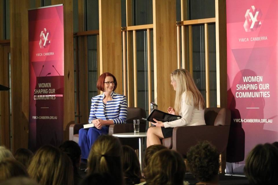 YWCA and female leadership