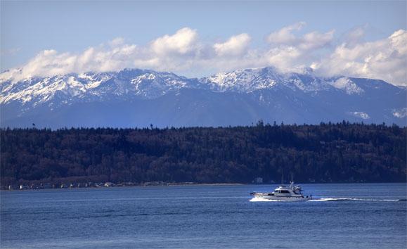 Puget Sound Edmonds Washington