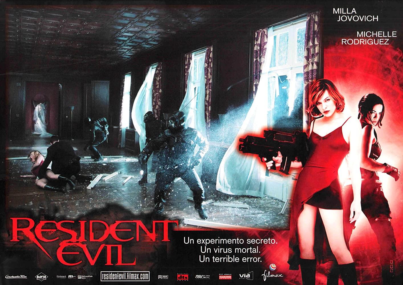 resident evil extinction film poster