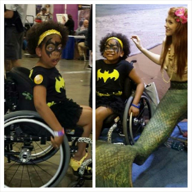 Blowing Minds out of the Water! Ginger makes a SPLASH at the Abilities Expo in Los Angeles for the inventor of SandPad!