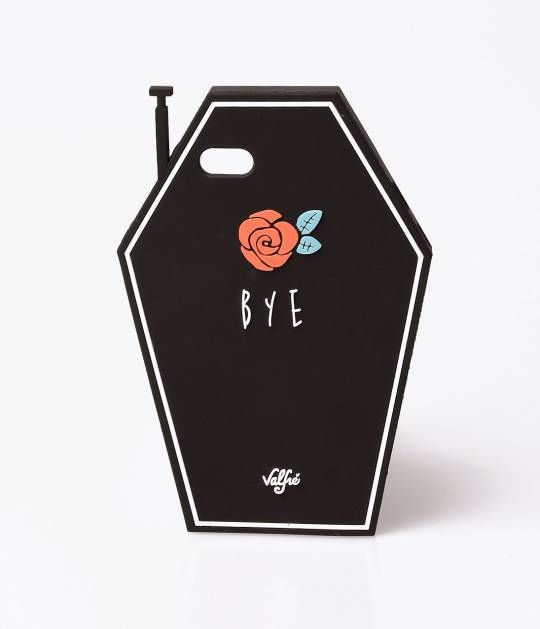 Valfre Black Coffin phone case