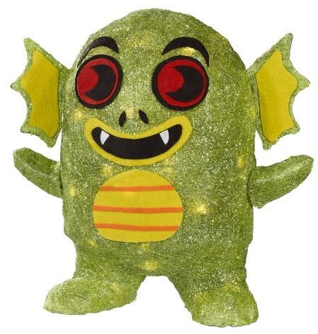 Lit Halloween Sisal Creature