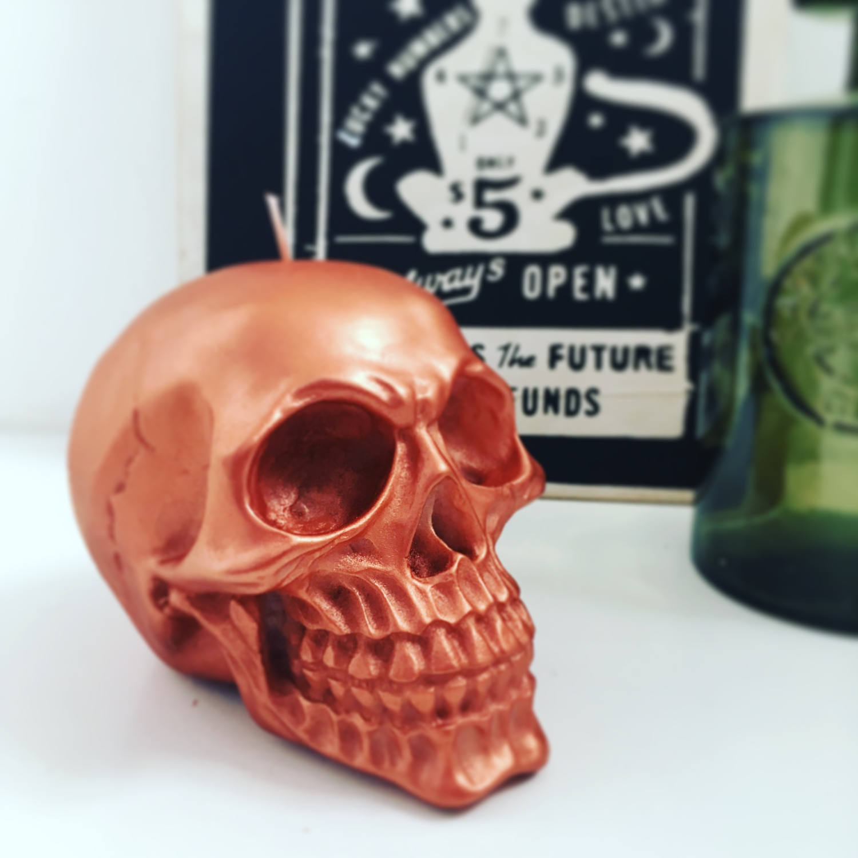 Skull Candle gift set