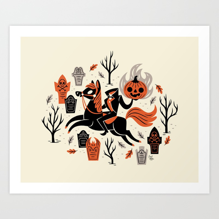 Headless Horseman by There Will Be Cute