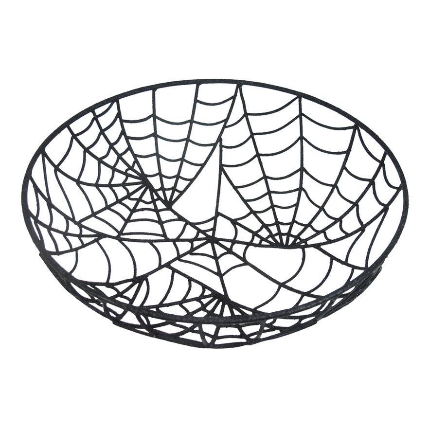 Decorative Spiderweb Bowl