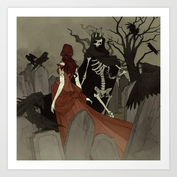 Danse Macabre by Abigail Larson
