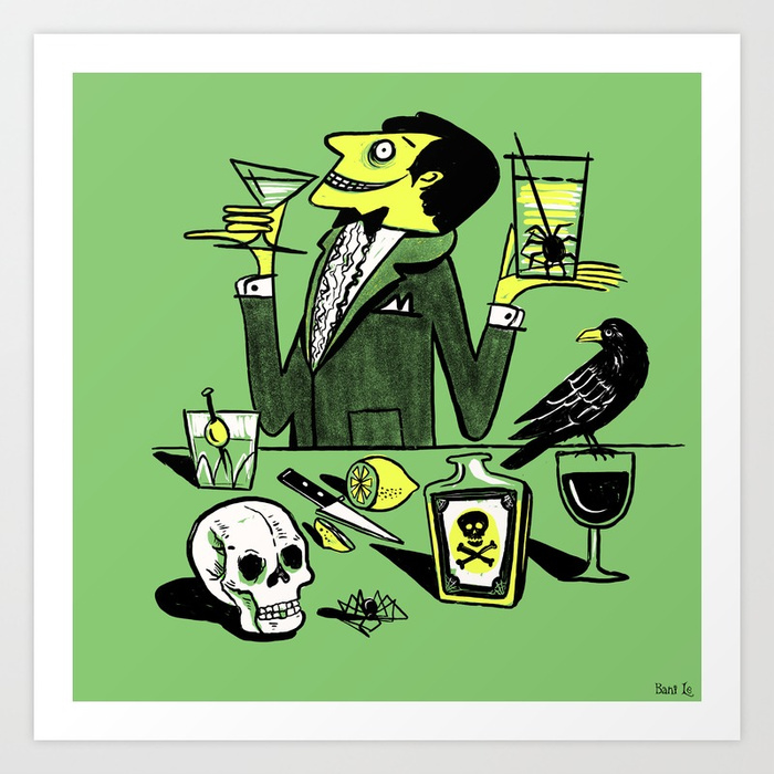 Drinks With The Mad Scientist Next Door by Little Bunny Sunshine