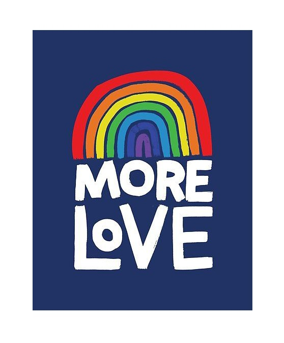 More Love poster by Matthew Taylor Wilson