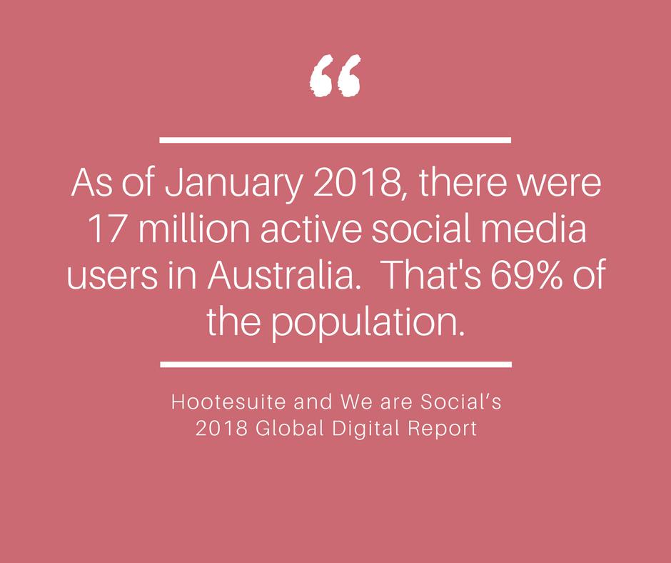 Australian social media users