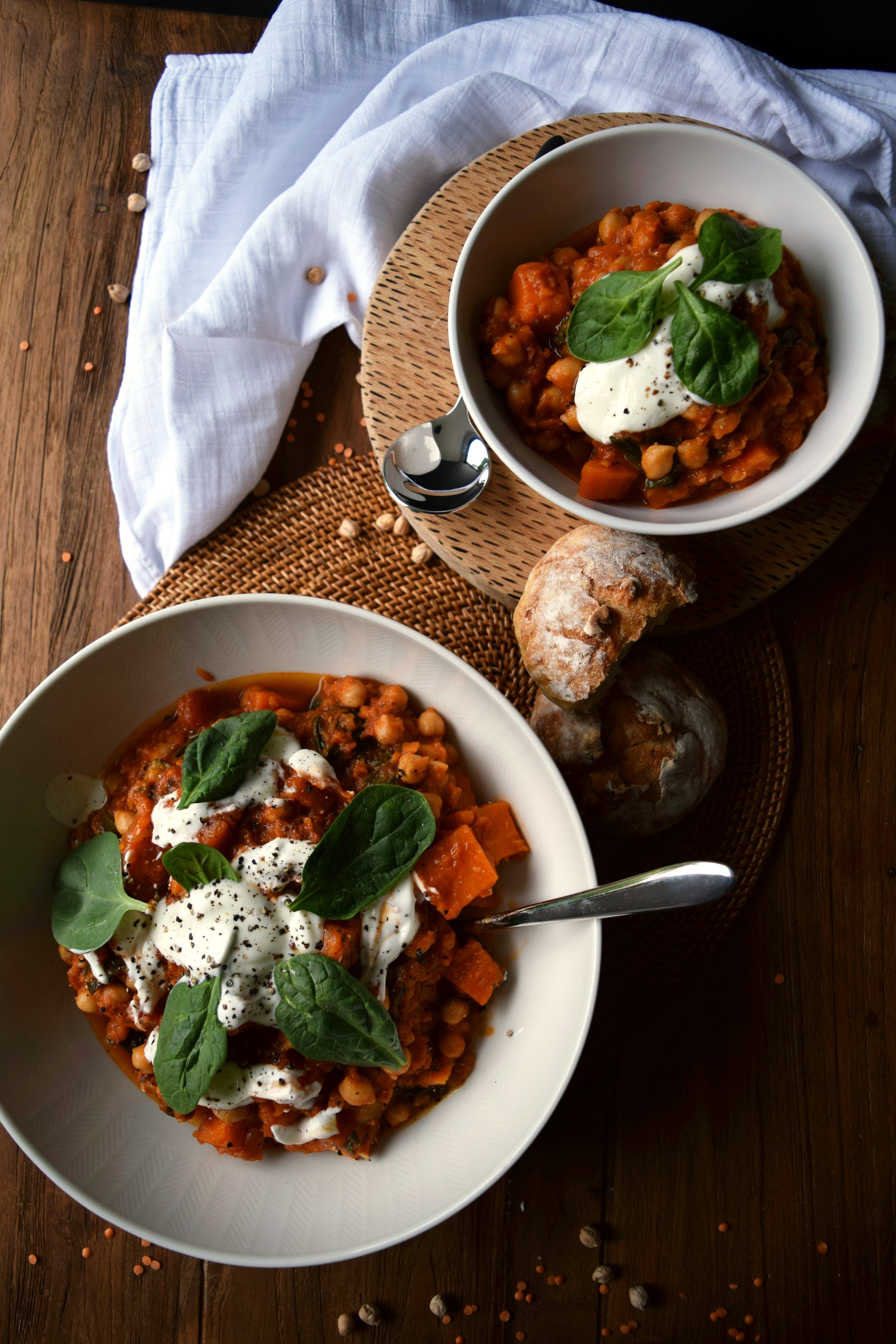 Comforting and warming vegetable stew.