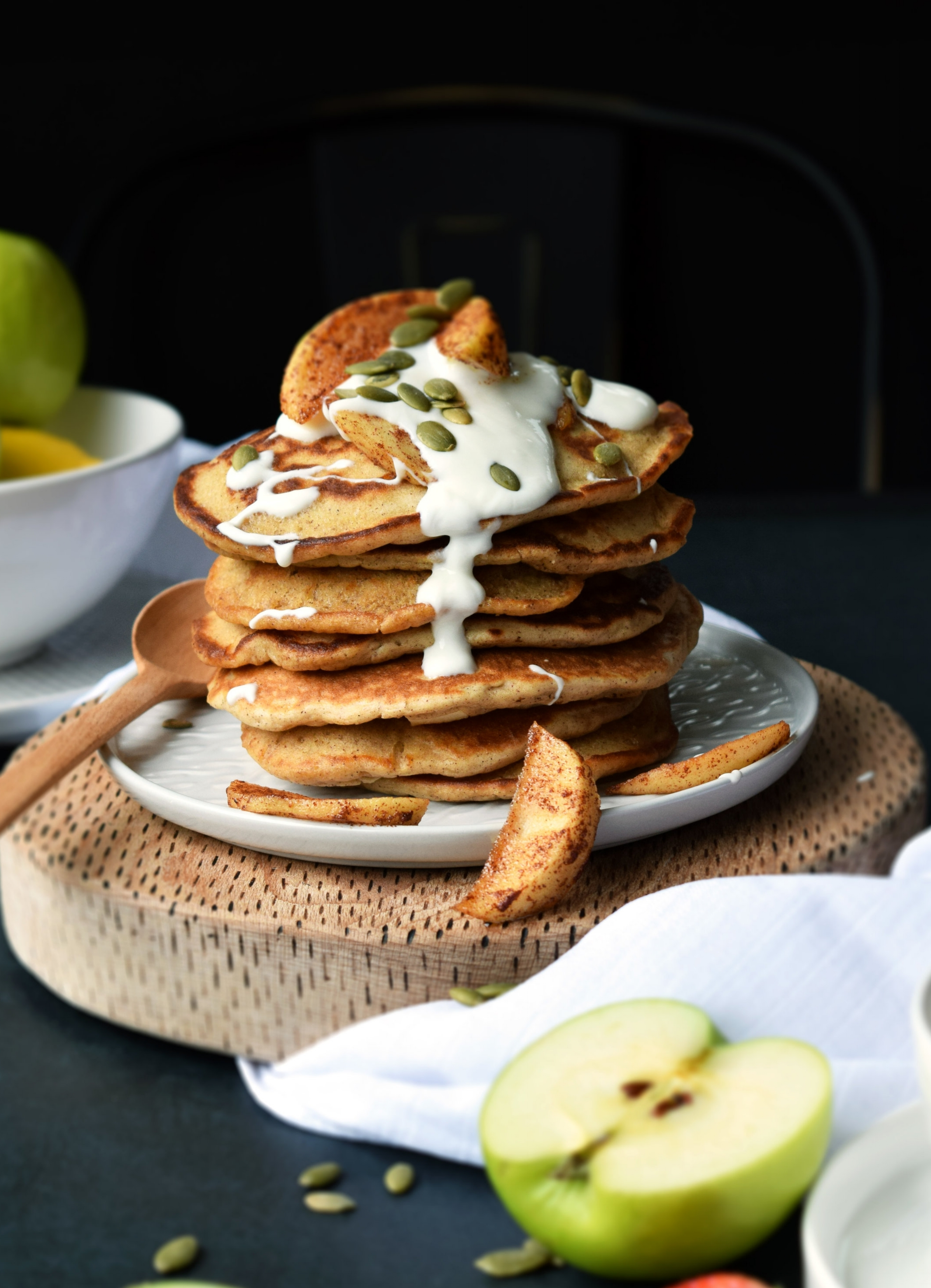 Apple & Cinnamon pancakes.jpg