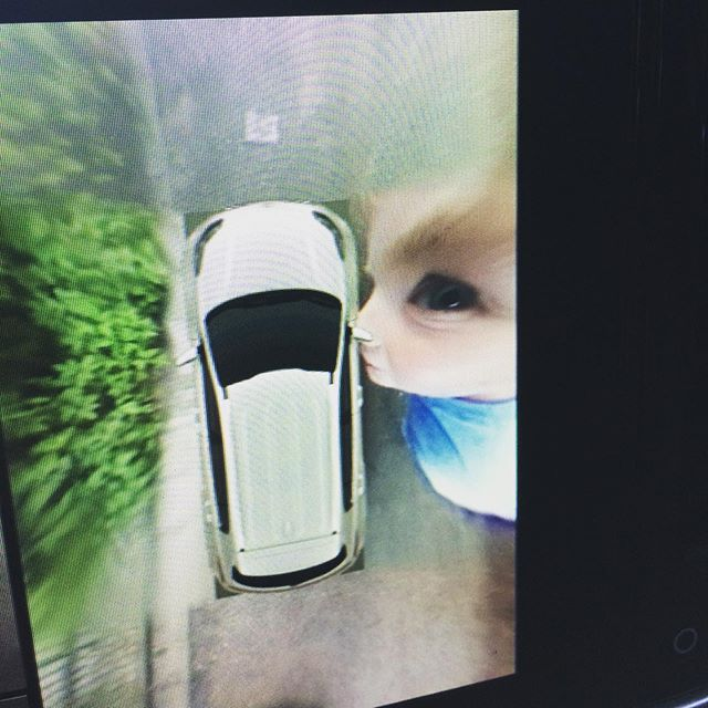 Ben does Dali with the hire car cameras.