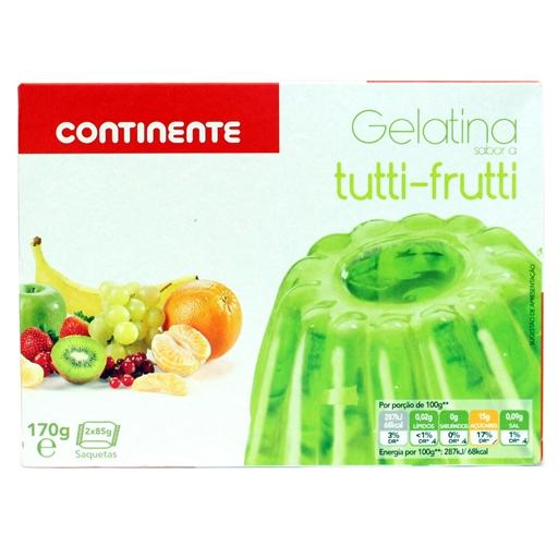 Gelatina Tutti-Frutti - Continente