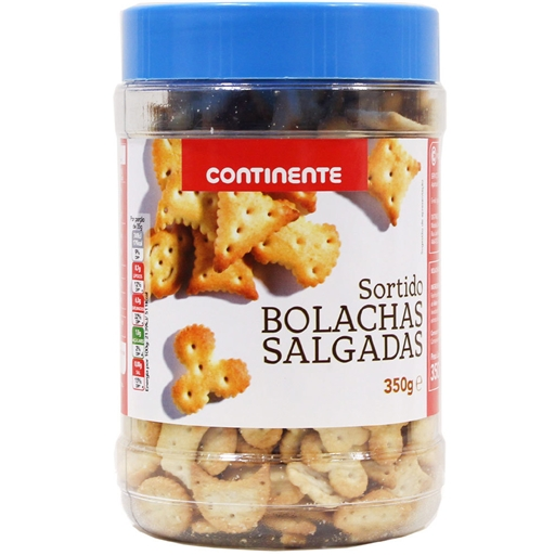 SALTY CRAKERS CONTINENTE100GR