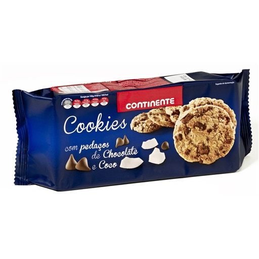 CHOCOLATE  CHIP  & COCO  COOKIES  CNT 184GR