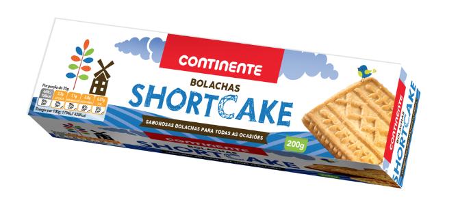 SHORTCAKE CONTINENTE 200GR