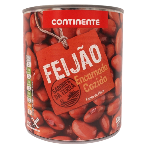 RED  BEANS  CONTINENTE 830GR