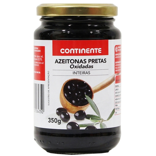 PITTED  OXIDIZED  CURED BLACK  OLIVES  345GR