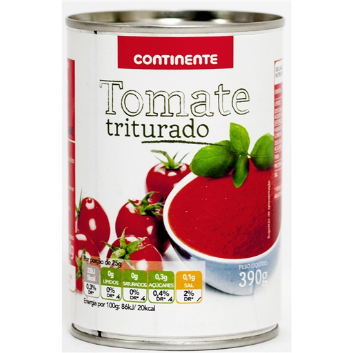 CRUSHED TOMATOES CONTINENTE 390GR
