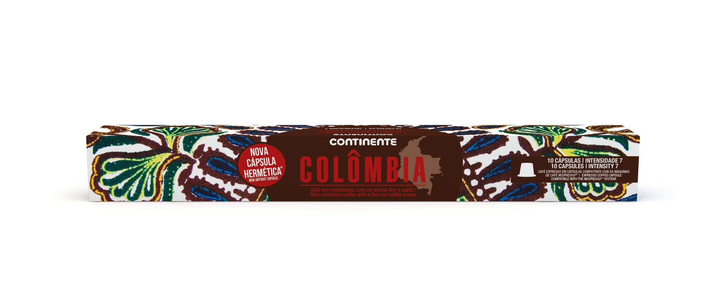 COLOMBIA COFFEE CONTINENTE  10CAP