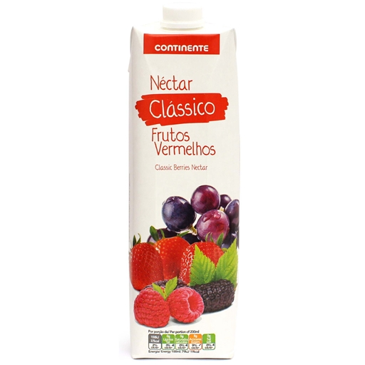 RED  BERRIES  NECTAR CONTINENTE  1LT