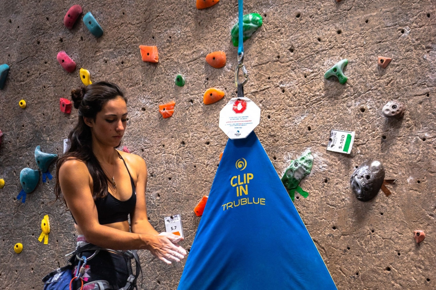 No partner? No problem! Vertical Hold is the only San Diego gym that offers Auto Belays. Get that climb in with no partner necessary!