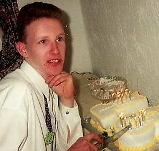 Nicholas Calder , died Dec 1999 aged 25 from HIV & Hep C.