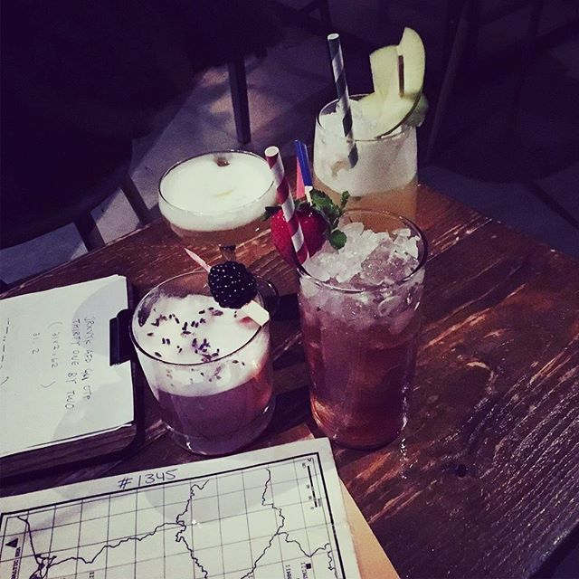 """👊🏼No cocktail menu, just puzzles to solve to get something you """"might"""" like 🤓 #cocktails #codebreaking #bletchley #immersiveexperience"""