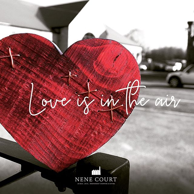 Happy Valentines Day!  Love is in the air down here at #NeneCourt - and don't worry if you've forgotten to get something for that special person in your life, pop down and see us....there is still time!  #Valentinesday #valentines #Northamptonshire #Wellingborough #Shopping #ShopLocal #UniqueGifts #Love