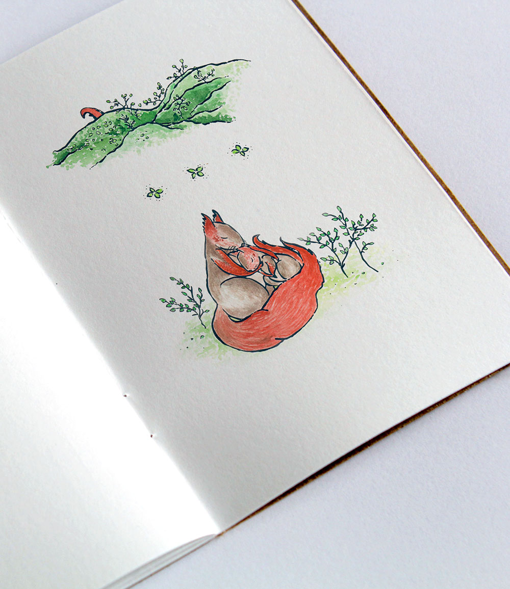 Hento Design®   Grovehill Creative Studio's brand that creates fairytale like illustrations inspired by the Finnish nature.  Click here to see more..