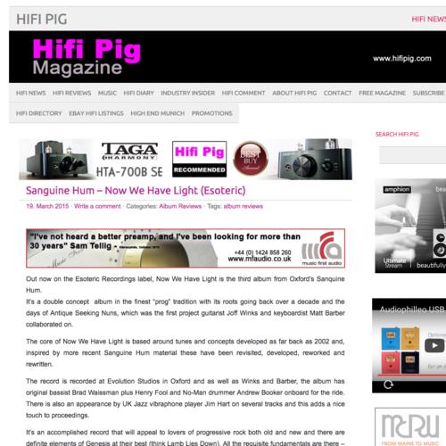 Reviews — Sanguine Hum
