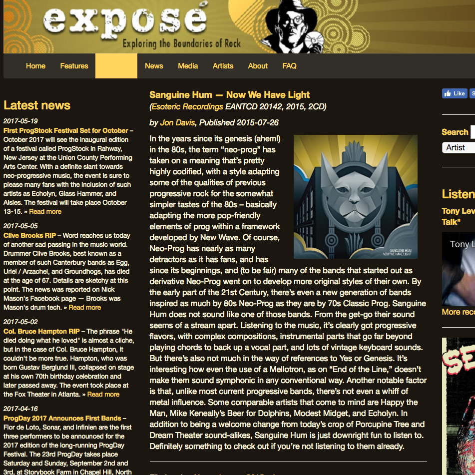 <p><strong>Expose Magazine</strong><i></i></p>