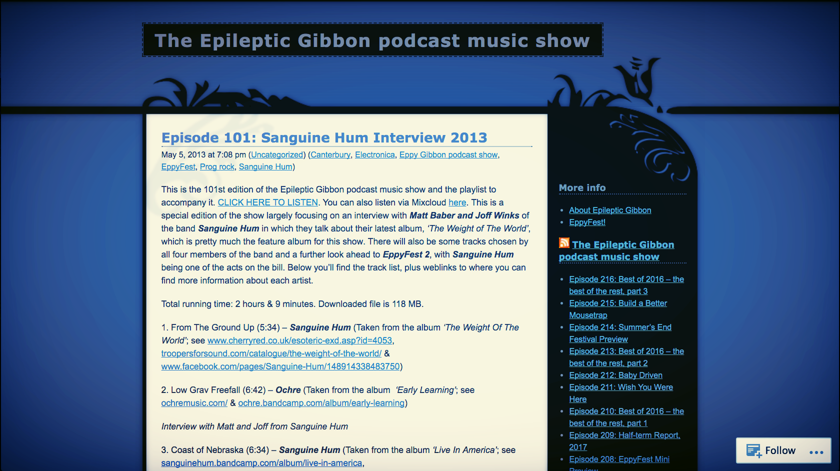 <p><strong>The Epileptic Gibbon Podcast Show</strong>The Weight of the World<i></i></p>